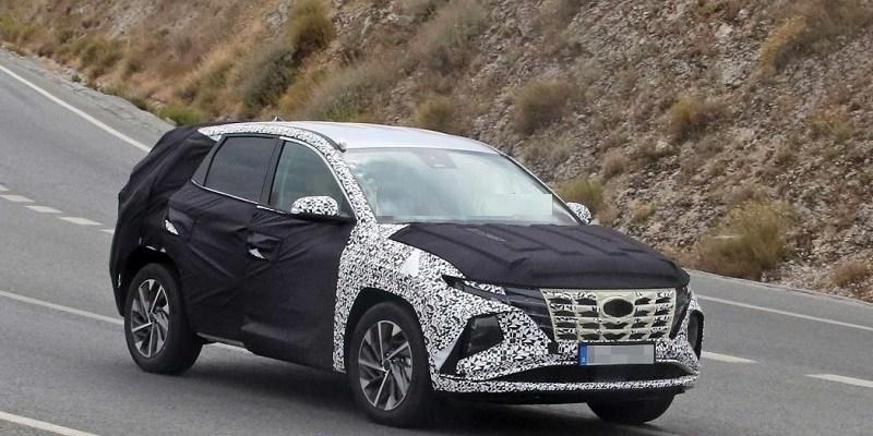 2021 Hyundai Tucson Spied