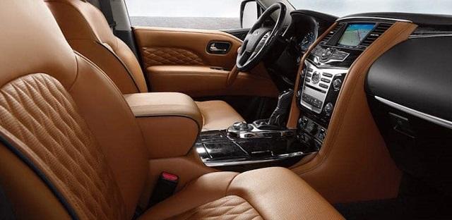 2021 Infiniti QX80 interior