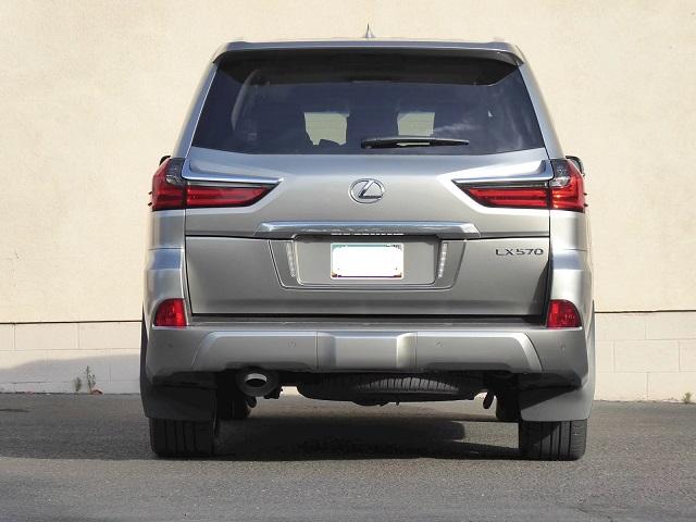 2021 Lexus LX 570 changes