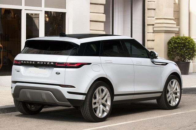 2021 Range Rover Evoque rear