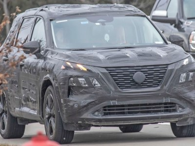 2021 Nissan Rogue prototype