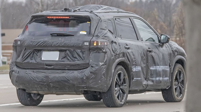 2021 Nissan Rogue spied
