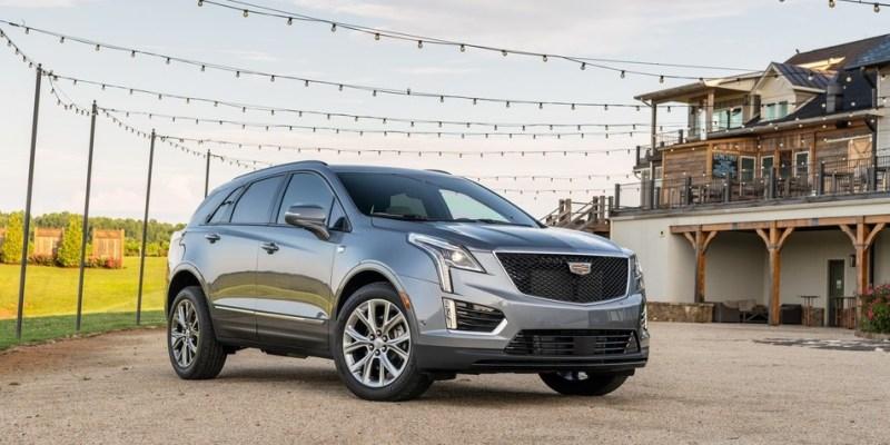 2022 Cadillac XT5 redesign
