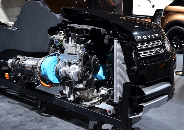2021 Land Rover Discovery hybrid configuration