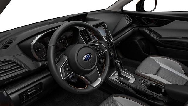 2021 Subaru Crosstrek interior