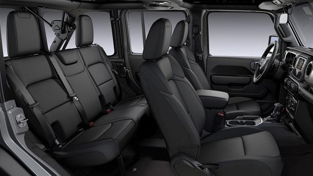 2021 Jeep Wrangler Unlimited interior