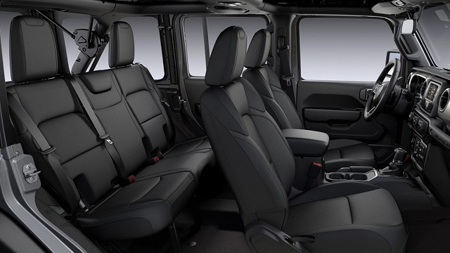 2021 Jeep Wrangler Unlimited interior