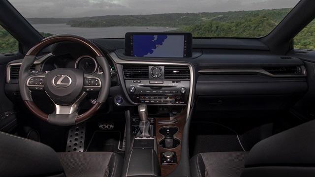 2021 Lexus RX 450h Interior