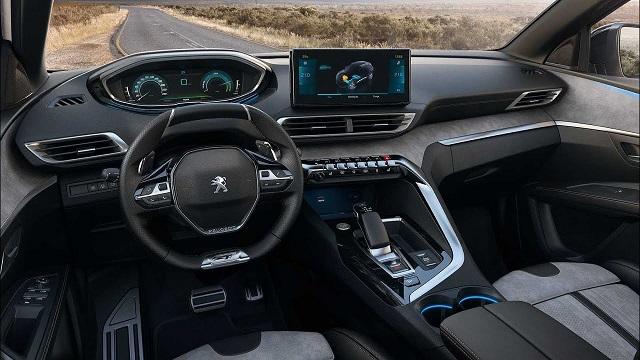 2021 Peugeot 4008 Interior