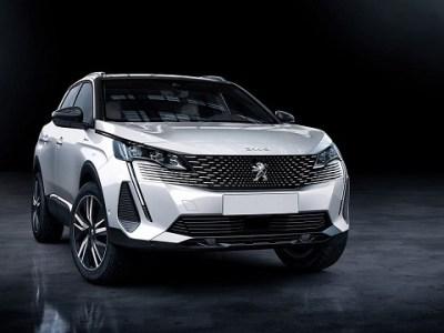 2021 Peugeot 4008 Render