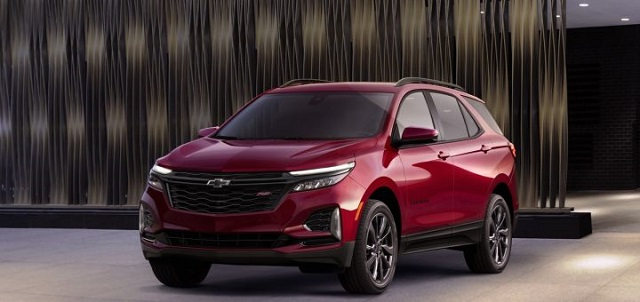 2022 Chevy Equinox Facelift