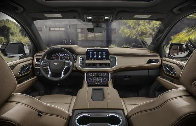 2022 Chevy Avalanche Dashboard