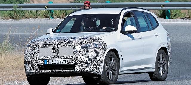 2022 BMW X3 Spy photo