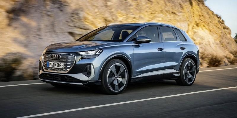 2022 Audi Q4 e-tron featured