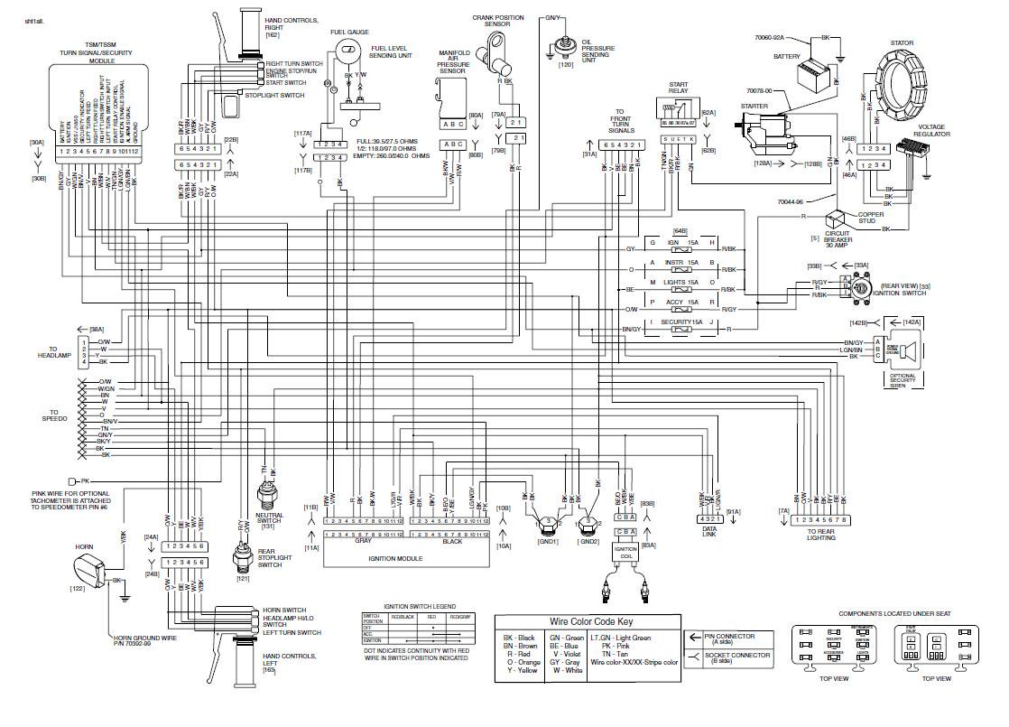 Wiring Diagram For Harley Davidson Softail