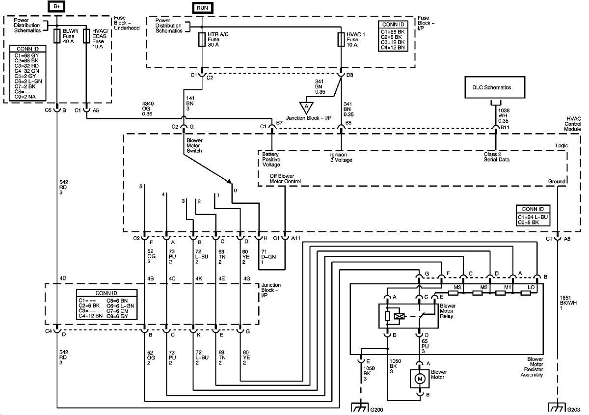 Chevy Silverado Heater Wiring Diagram