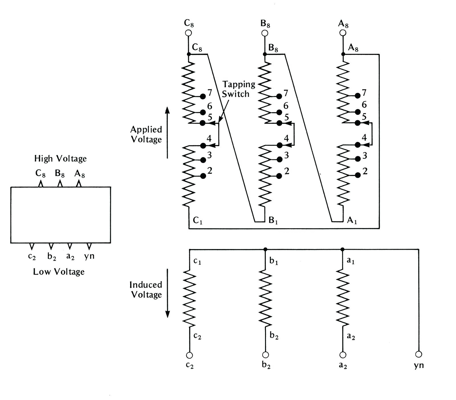 Single Phase Transformer Wiring Diagram Symbols For Three