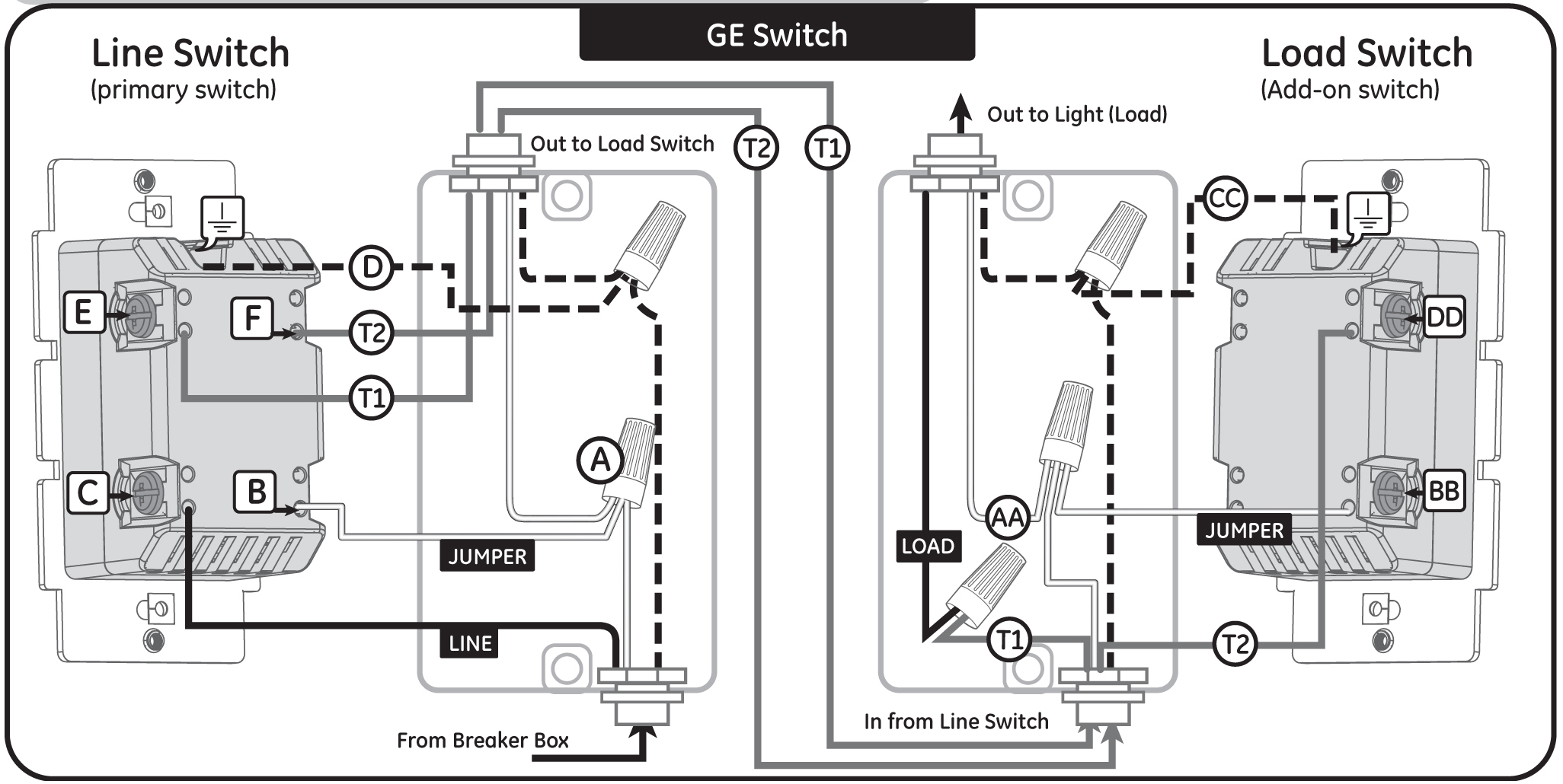3 Way Dimmer Switches Wiring Diagram