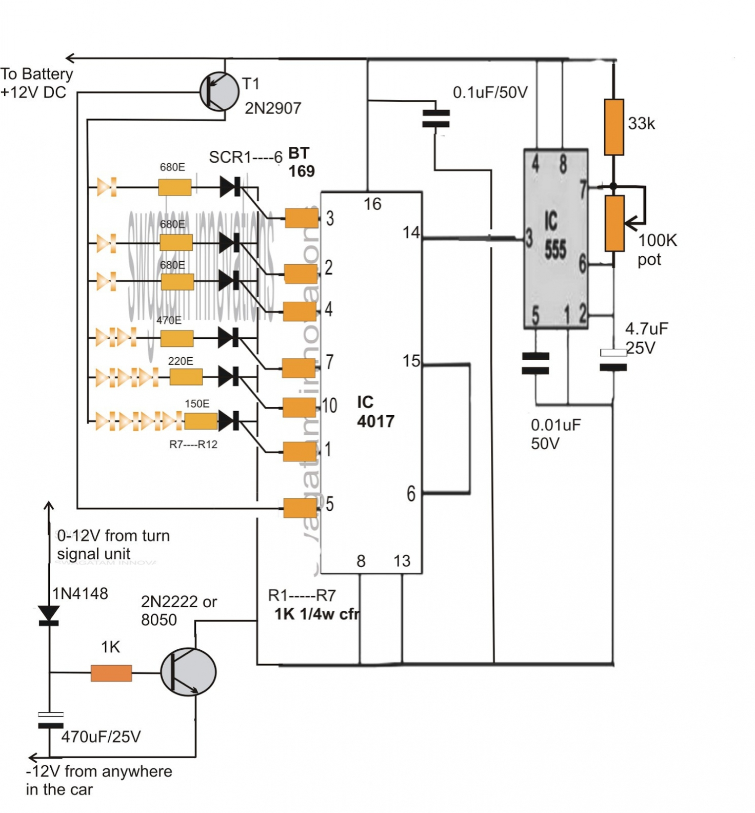 3 Pin Flasher Relay Wiring Diagram