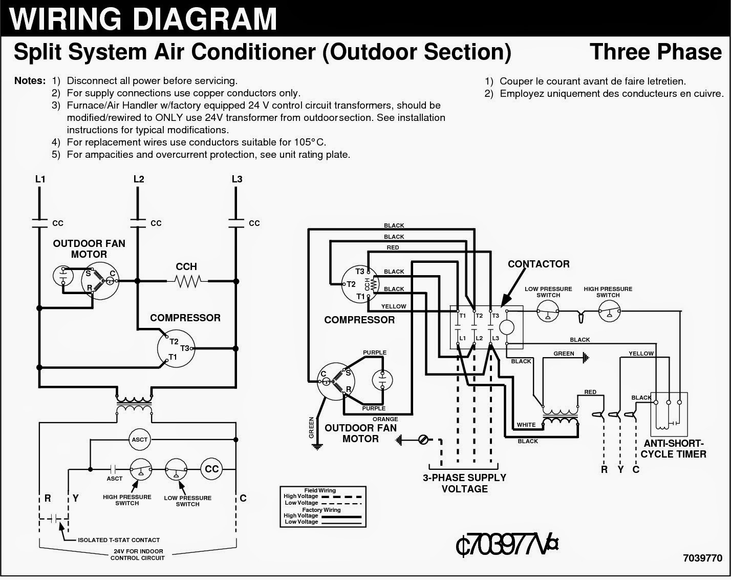 Central Ac Wiring Diagram Wiring Library