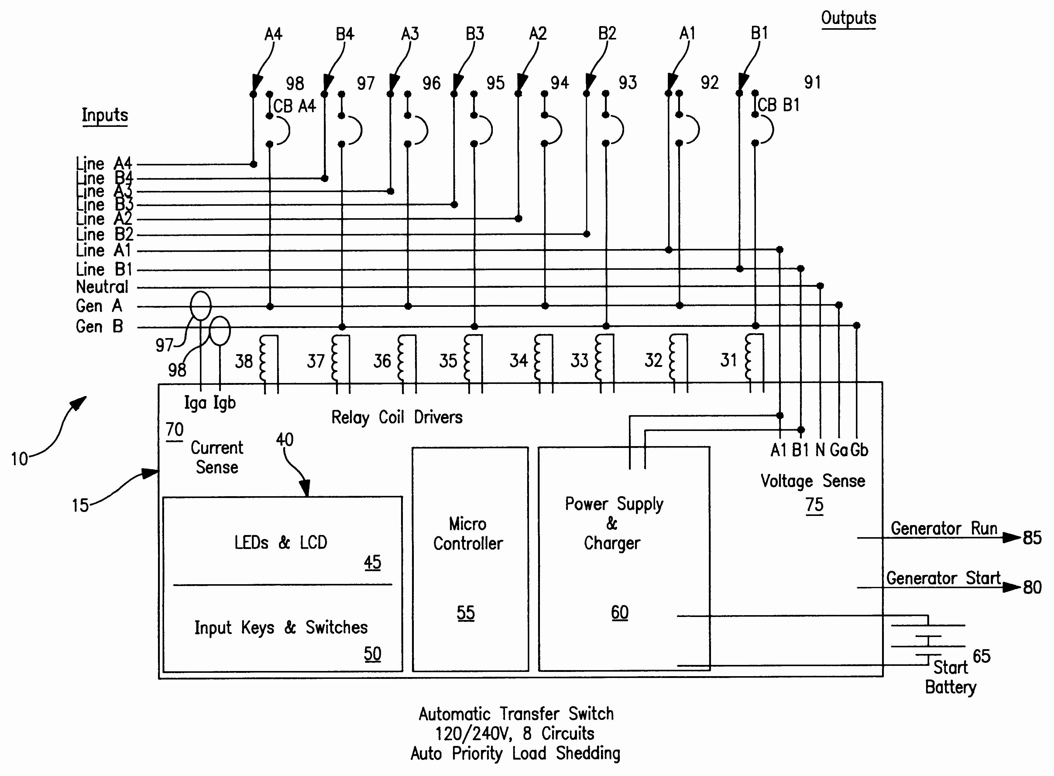 Generac Automatic Transfer Switch Schematic