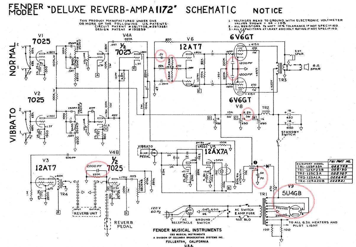 Bf Sf Deluxe Reverb Fenderguru