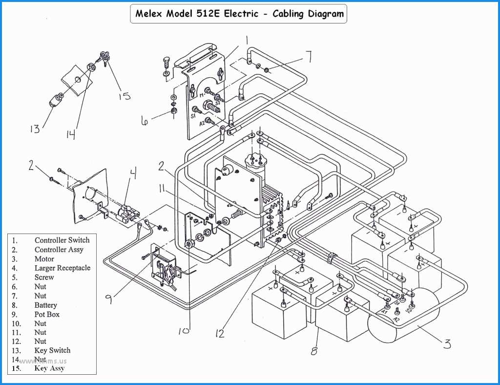 36 Volt Club Car Golf Cart Wiring Diagram