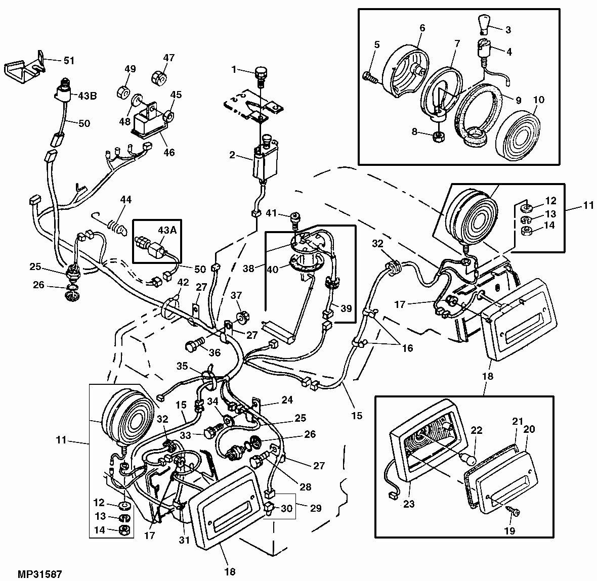John Deere Wiring Diagram Download