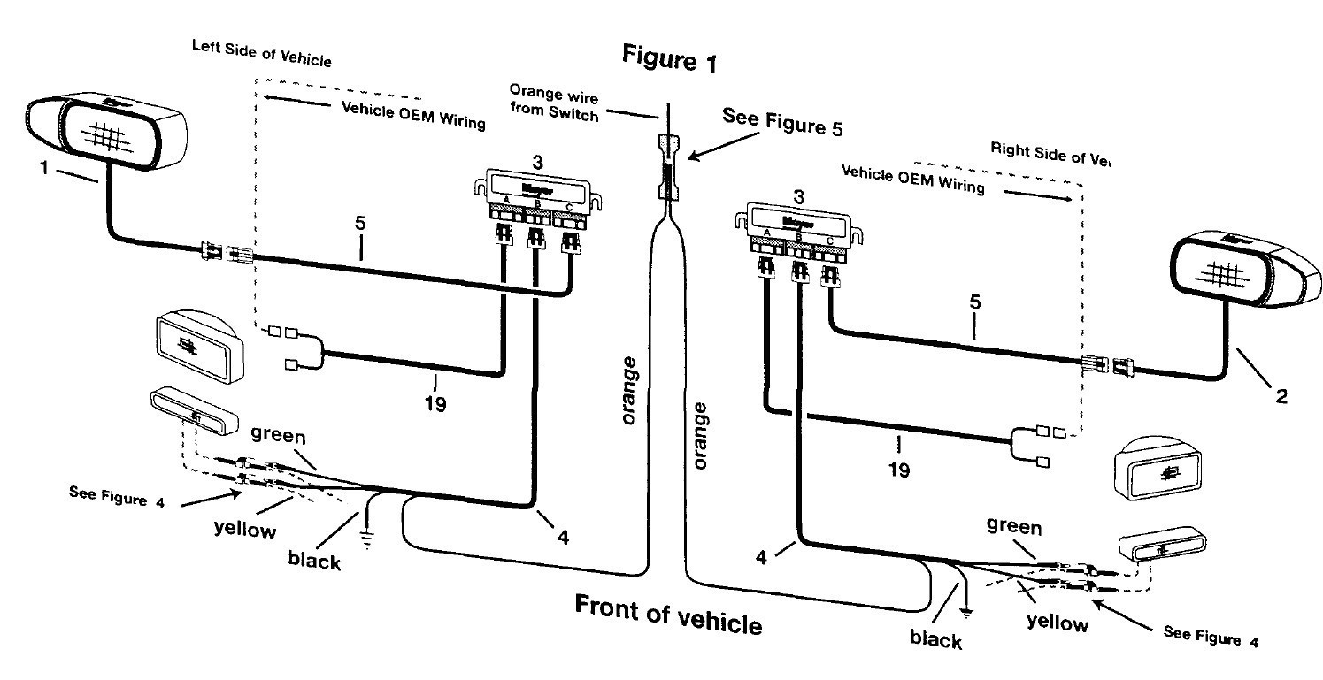 Western Plow Light Wiring Diagram
