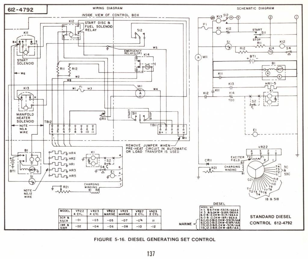 Onan Wiring Diagram Wiring Diagram