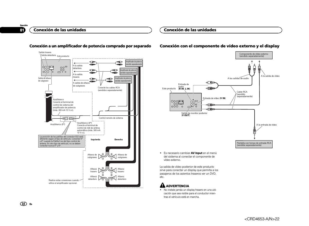 Pioneer Avh X Dvd Wiring Diagram