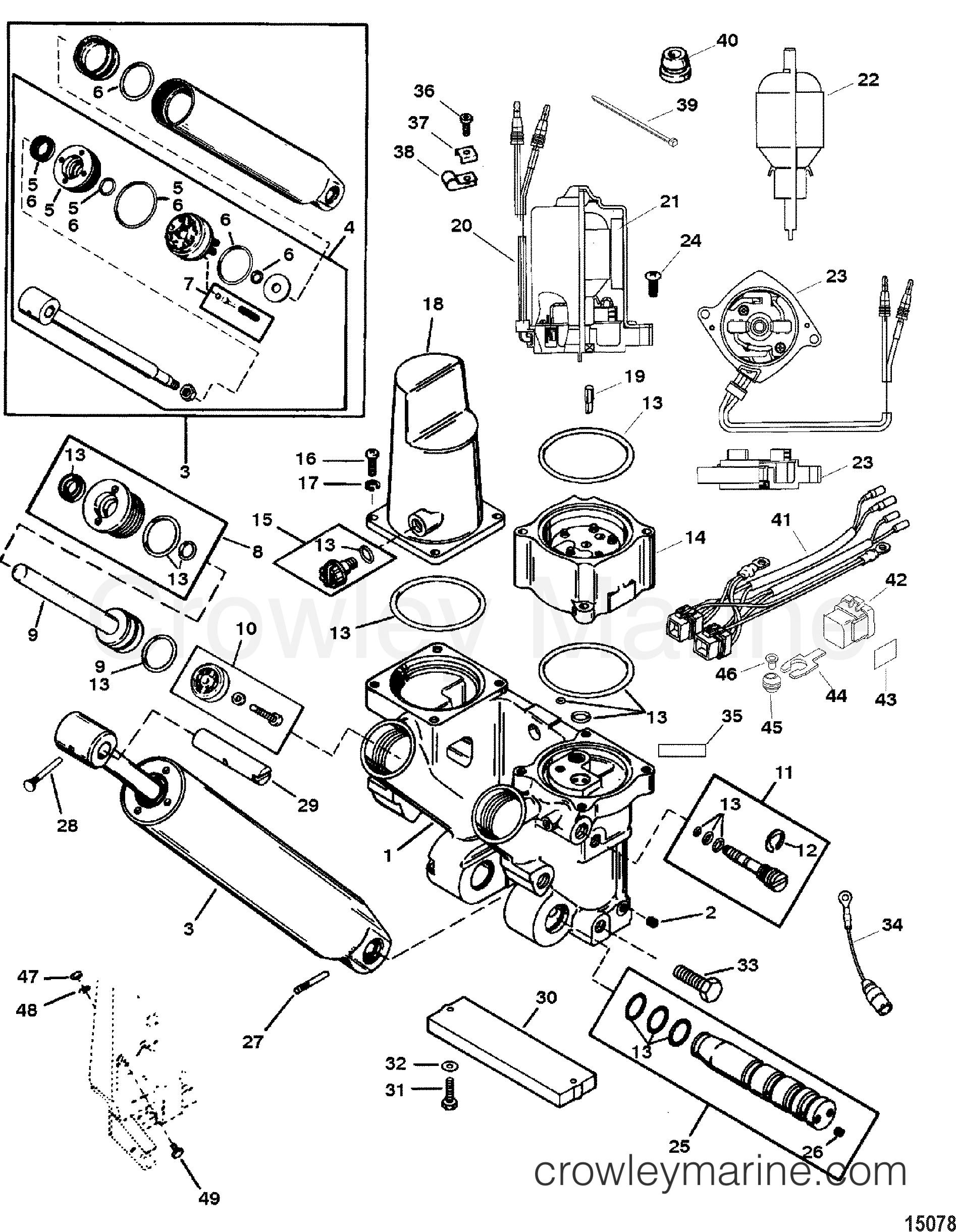 Mercury Outboard Power Trim Wiring Diagram