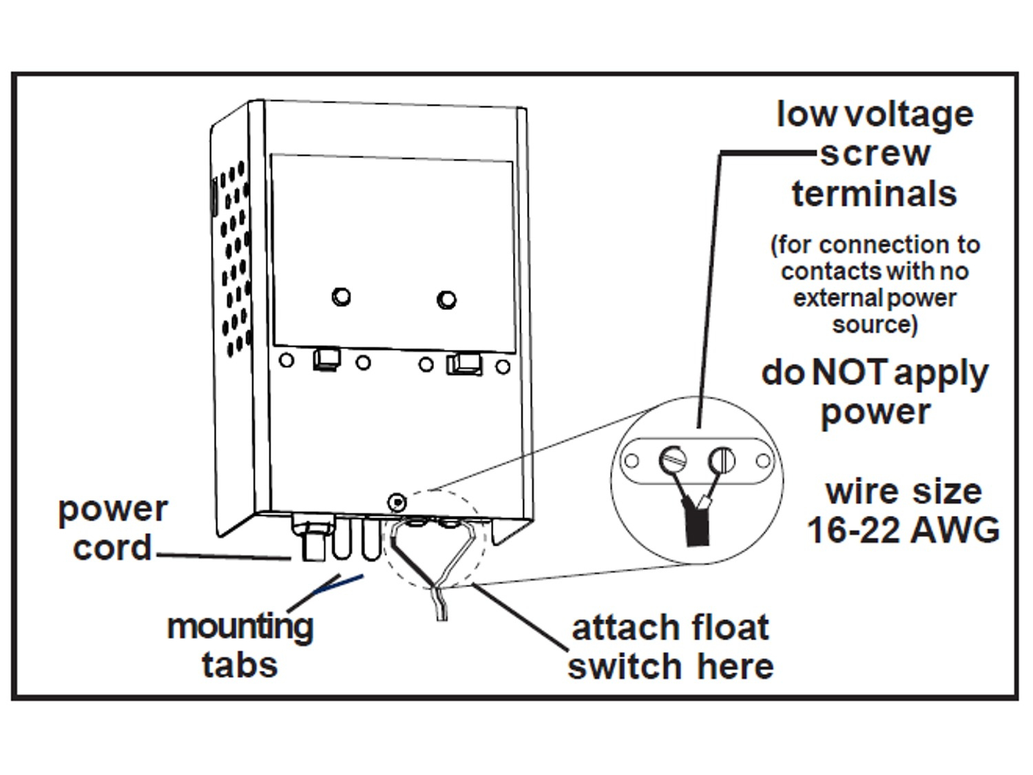 Septic Tank Float Switch Wiring Diagram