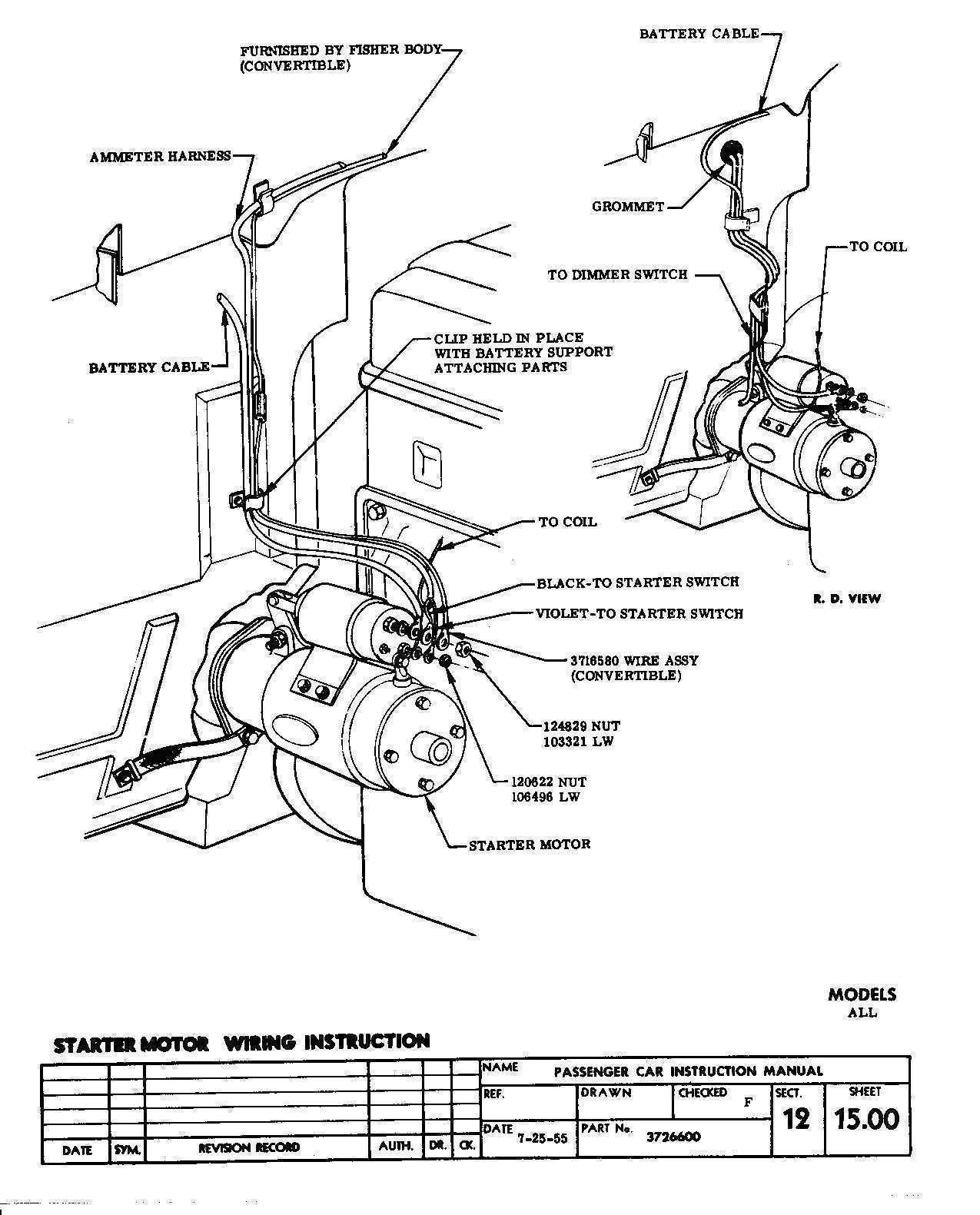 Wiring Diagram For A Starter Solenoid