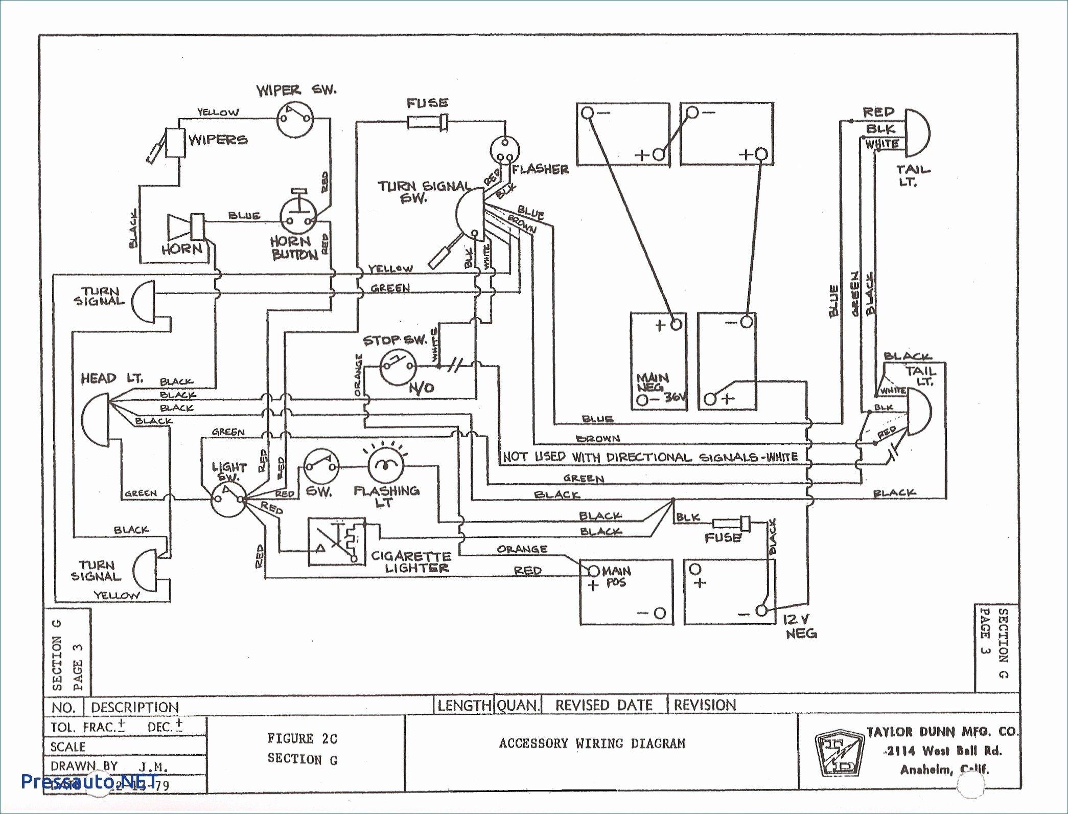 48 Volt Golf Cart Battery Wiring Diagram