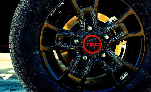 2019 Toyota Land Cruiser TRD Pro wheels