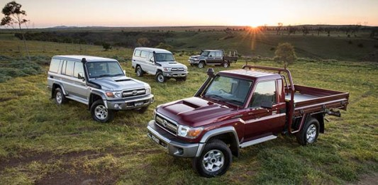 2019 Toyota Land Cruiser Pickup