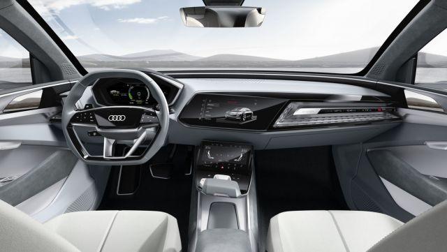 2019 Audi E-Tron interior