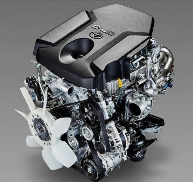 2019 Toyota Rush engine