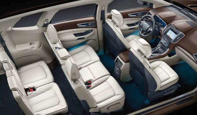 2020 Ford Edge seats