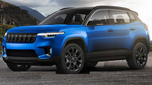 2022 Jeep Compass front