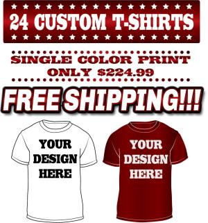 24 custom screen printed t shirts 2020 printworks