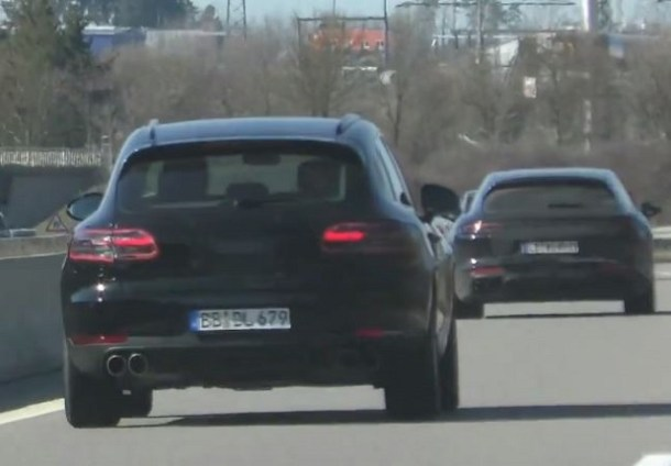 2019 Porsche Macan Spy Photo Rear