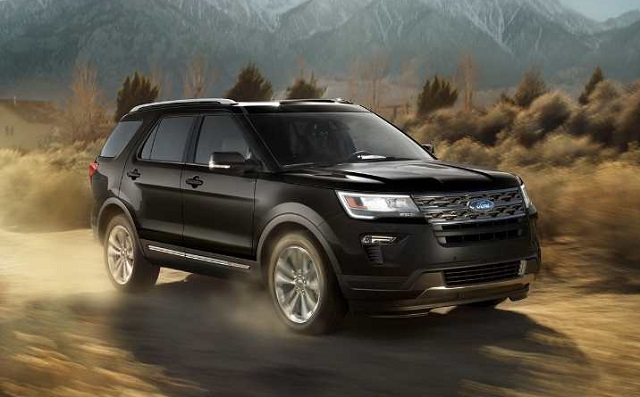 2019 Ford Explorer front view