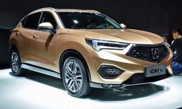 2019 Acura CDX front view