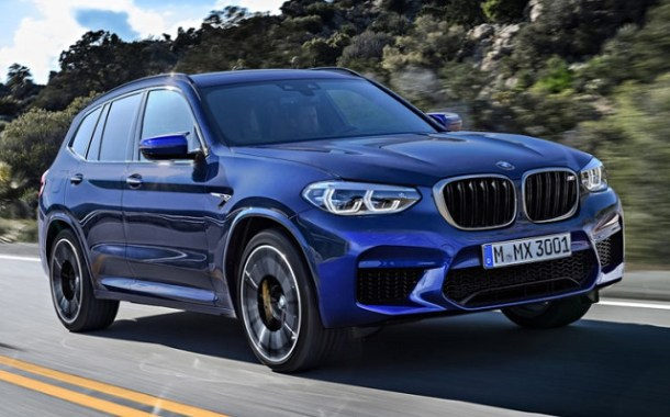 2019 BMW X3 M front view