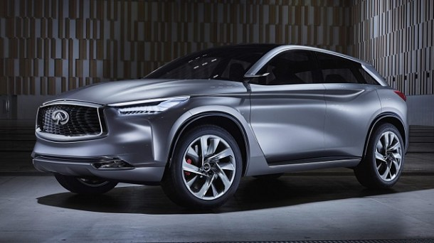 2019 Infiniti QX70 front view