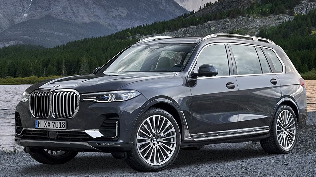 2020 BMW X7 front