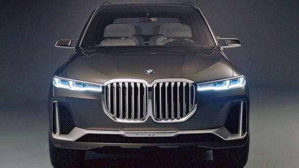 2020 BMW X8 grille