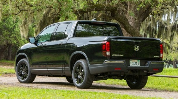 2020 Honda Ridgeline Type R rear